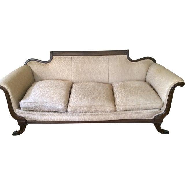 Duncan Phyfe Antique Sofa - Image 1 of 8