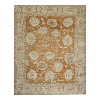"Hand Knotted Fine Oushak Rug by Aara Rugs Inc. - 8'2"" X 9'11"""