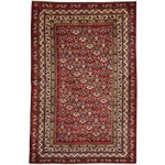 """Image of New Traditional Hand Knotted Area Rug - 4'1"""" x 6'4"""""""