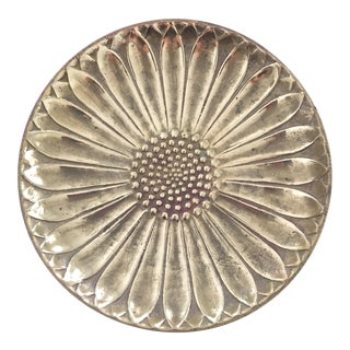 Brass Daisy Ring Dish