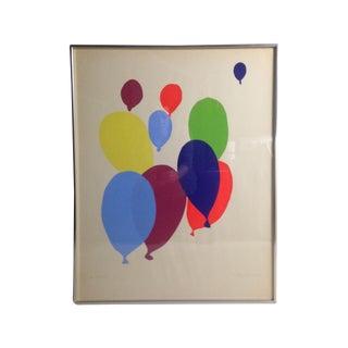 Colorful Balloon Screen Print
