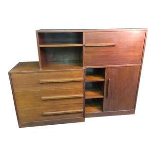 Art Deco Kem Weber Desk Cabinet