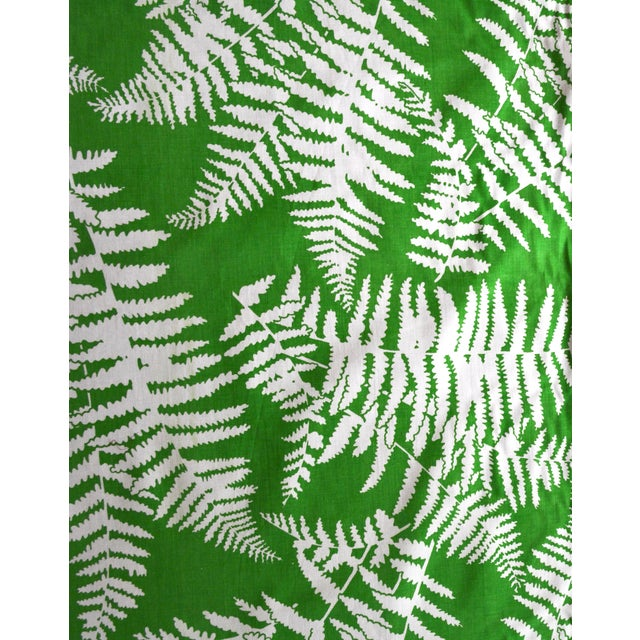 Green Palm Springs-Style Fern Fabric - 2 Bolts - Image 1 of 3