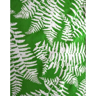 Green Palm Springs-Style Fern Fabric - 2 Bolts