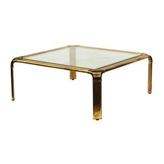 Widdicomb Brass Cocktail Table