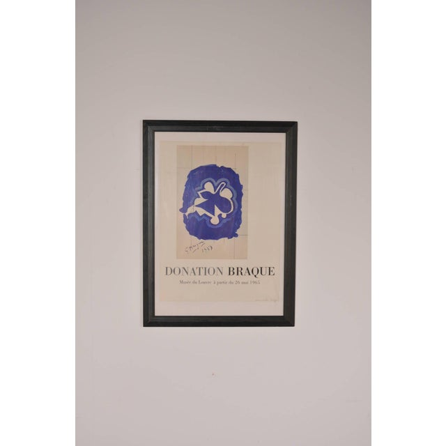 Lithography by Georges Braque for Louvre Museum, Printed by Mourlot in 1965 - Image 2 of 6