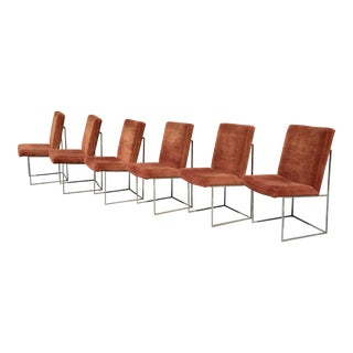 Milo Baughman for Thayer Coggin Dining Chairs - Set of 6