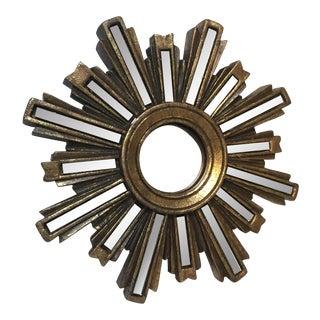 Gold-Bronze Starburst Mirror