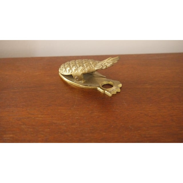 Hollywood Regency Brass Pineapple Paperclip - Image 3 of 4