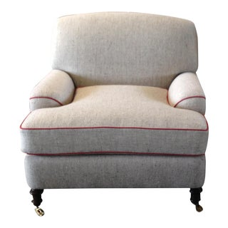 Modern Neutral Club Chair
