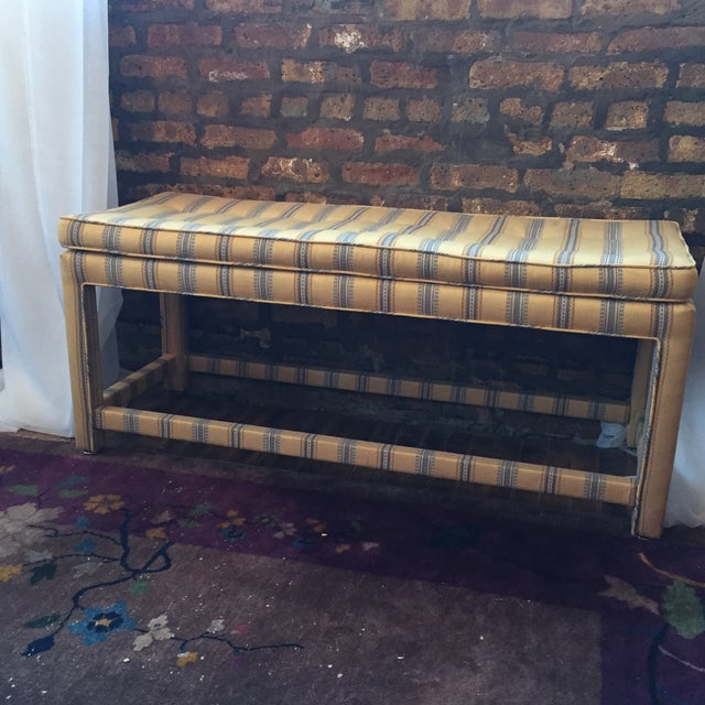 Vintage Parsons Bench - Image 2 of 5