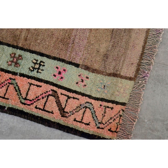 Hand Knotted Turkish Kars Rug - 5′9″ × 13′11″ - Image 9 of 11