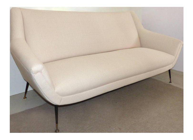 zanuso midcentury italian sofa