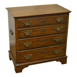 Pennsylvania House Solid Cherry Chippendale Style Nightstand Accent Chest