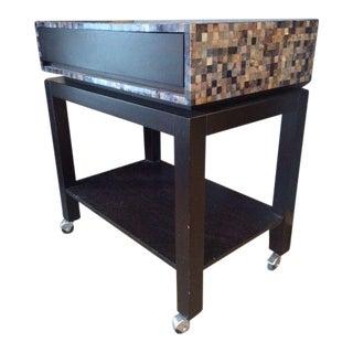 Nusa Mosaic Serving Cart