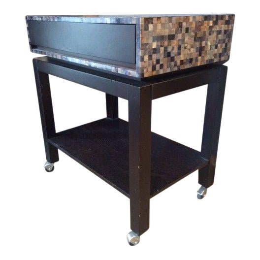 Nusa Mosaic Serving Cart - Image 1 of 4