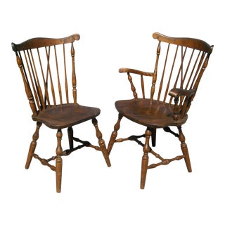 S.Bent & Bros Colonial Dining Chairs - Set of 6