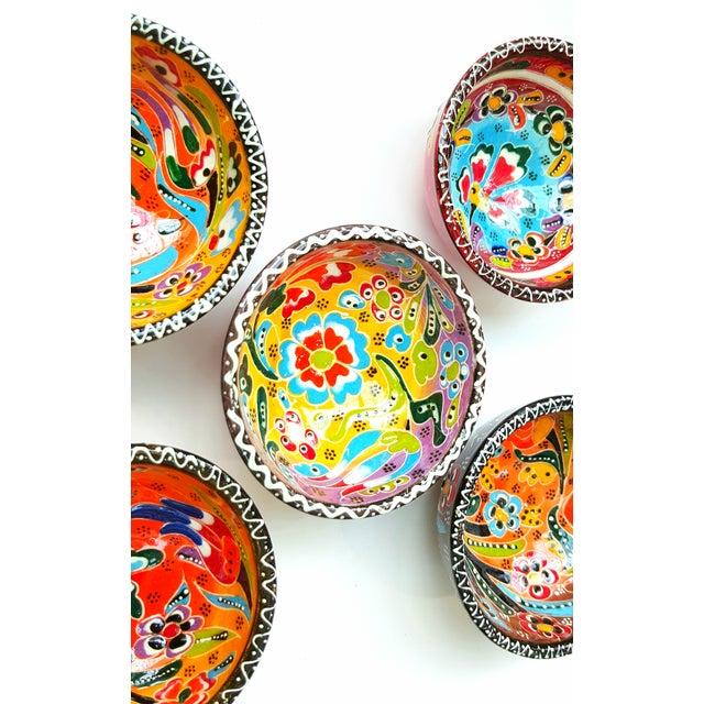 Image of Turkish Tile Bowls - Set of 5