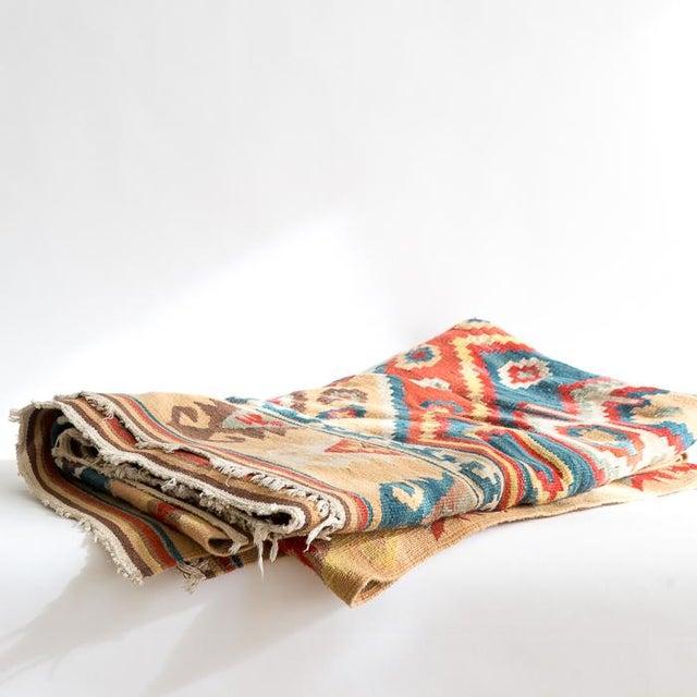 Southwest Flat Weave Rug - Image 8 of 8