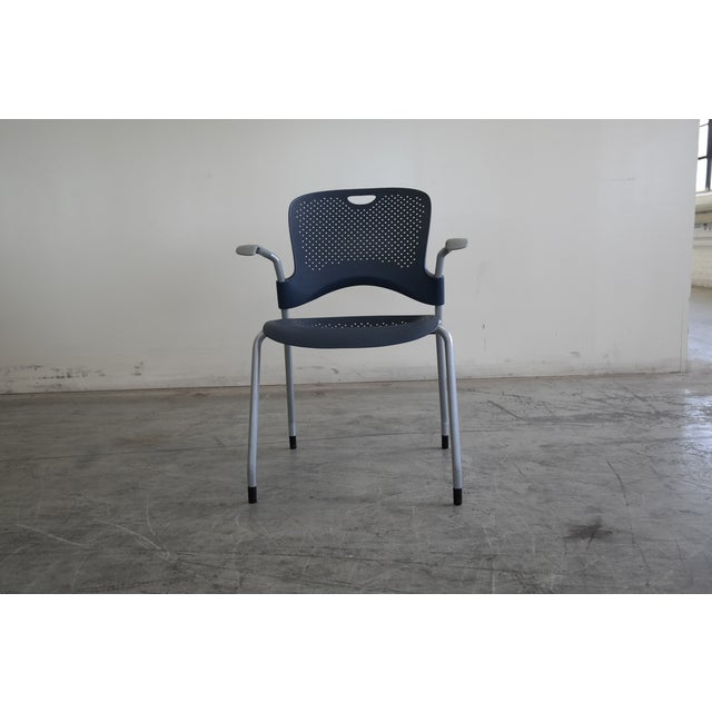Herman Miller Caper Stacking Office Chairs - S/6 - Image 3 of 7