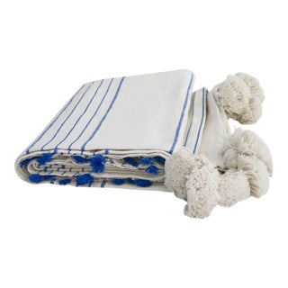 Blue Abanja Kasba Throw