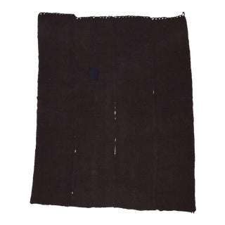Dark Brown Vintage Kilim Rug - 10′4″ × 12′11″