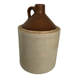 1920's Moonshine Whiskey Stoneware Jug