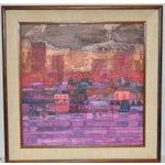 Image of 1960 Robert Inman Abstract Painting