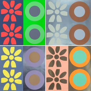 1960s Flower & Daisy Works by Peter Gee - 4