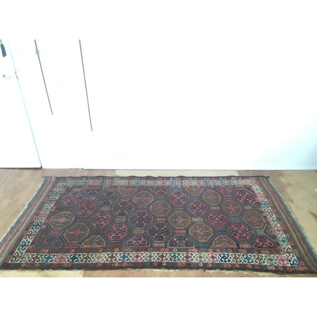 "Image of Antique Tribal Rug 6'10"" X 3'5"""