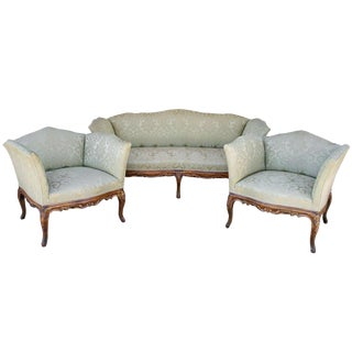 French Provincial Sofa Salon - Set of 3