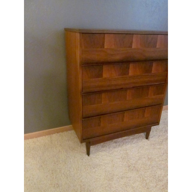 Mid-Century Modern Highboy Dresser - Image 6 of 7