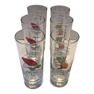 Recipe Cocktail Glasses - Set of 6