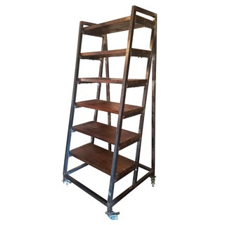 Ladder Bookshelf on Casters