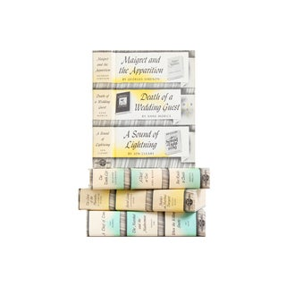 Mystery Book Decor Collection - Set of 4