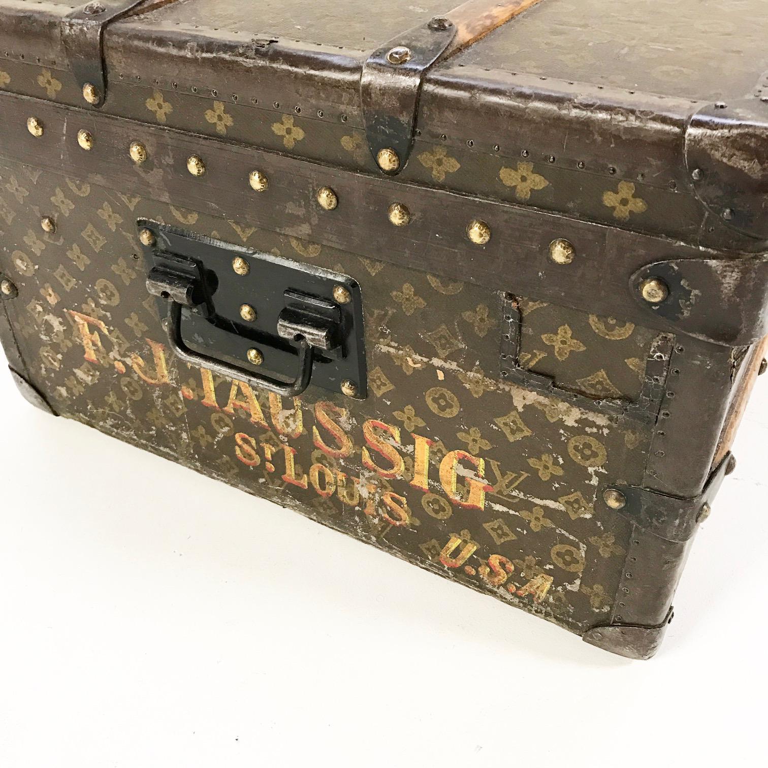 vintage louis vuitton trunk. vintage louis vuitton trunk - image 4 of 10