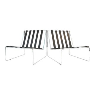 Pair of Kho Liang Le Artifort Lounge Chairs