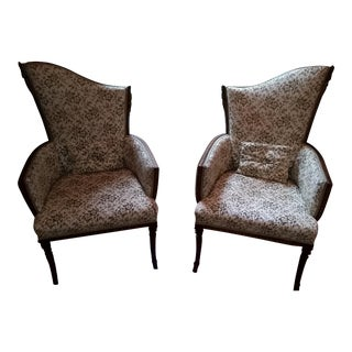 1930s Vintage Arm Chairs - A Pair