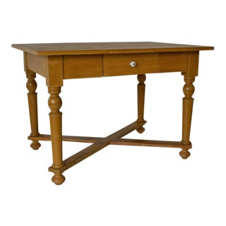 Painted Pine Writing Table