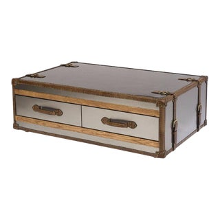Stainless Steel Trunk Coffee Table