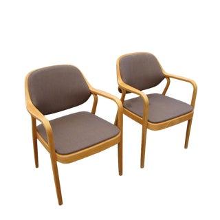 Vintage Knoll Don Petitt Armchairs- A Pair