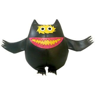 "Vintage 1960s ""Nauga"" Naugahyde Monster Doll"