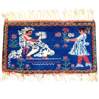 Mother Goddess Greek Sami-Antique Rug