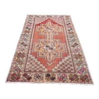 Turkish Anatolian Decorative Oushak Rug - 4′7″ × 8′1″