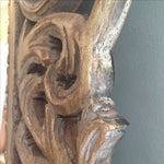 Image of Large Gilded Acanthus Scrolling Wooden Mirror