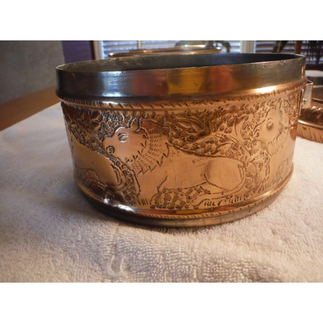"""Vintage Copper Clad """"Tiffin"""" or """"Dabba"""" - Image 4 of 9"""