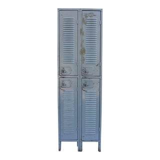 Antique Industrial Metal Lockers, Two available