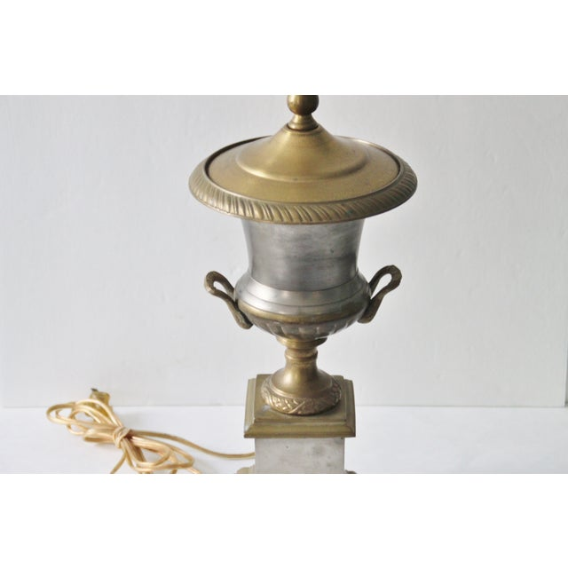 Neoclassical Trophy Urn Lamp - Image 4 of 6
