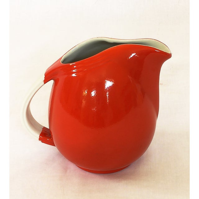 Vintage Hall's Superior Quality Red Pitcher - Image 2 of 4