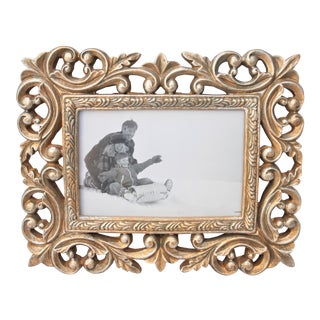 "Ornate 4"" X 6"" Picture Frame"